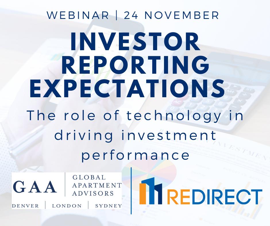 Investor Expectations Webinar
