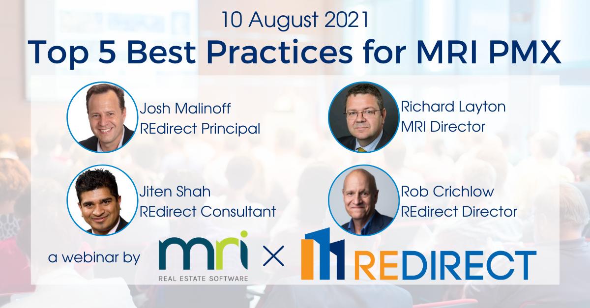 Best Practices for MRI PMX
