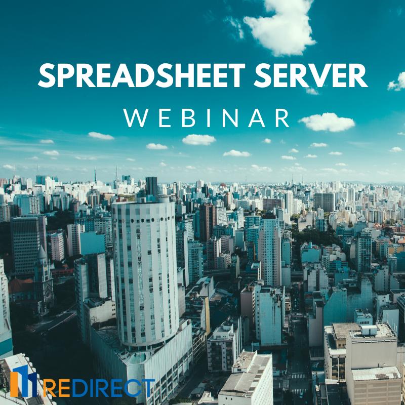 Spreadsheet Server Webinar