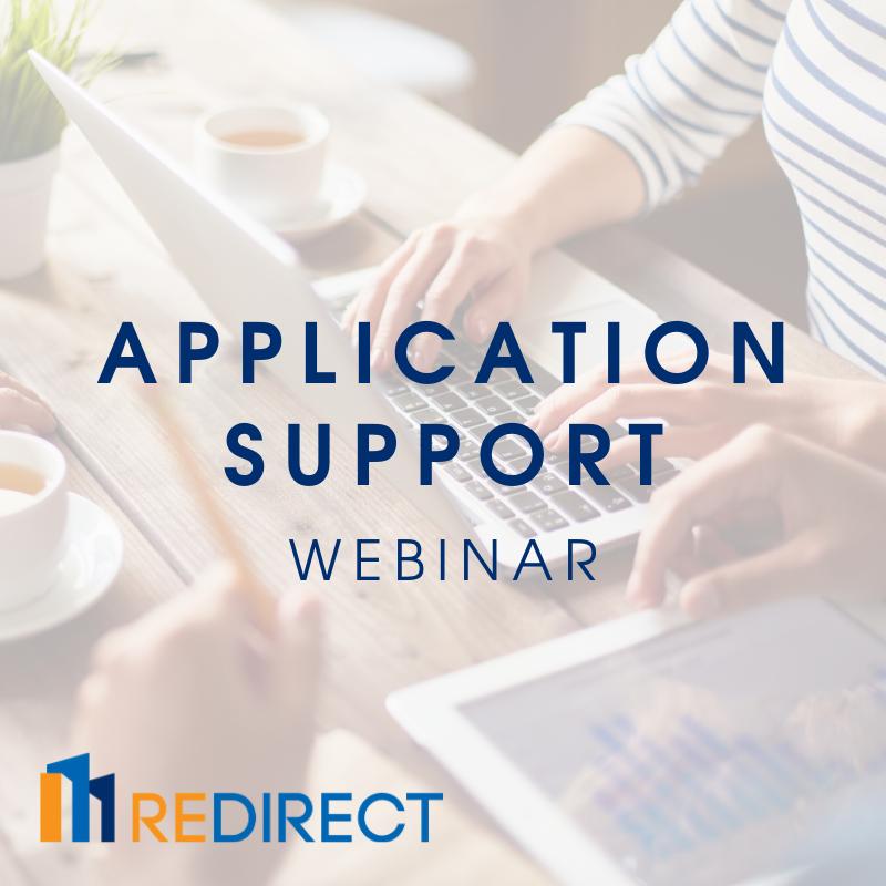 Application Support Webinar