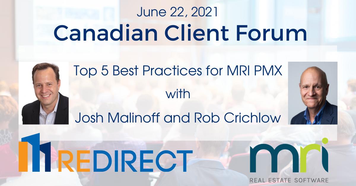 MRI Canadian Client Forum