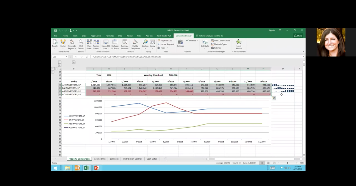 Connecting Excel to your MRI and Yardi data