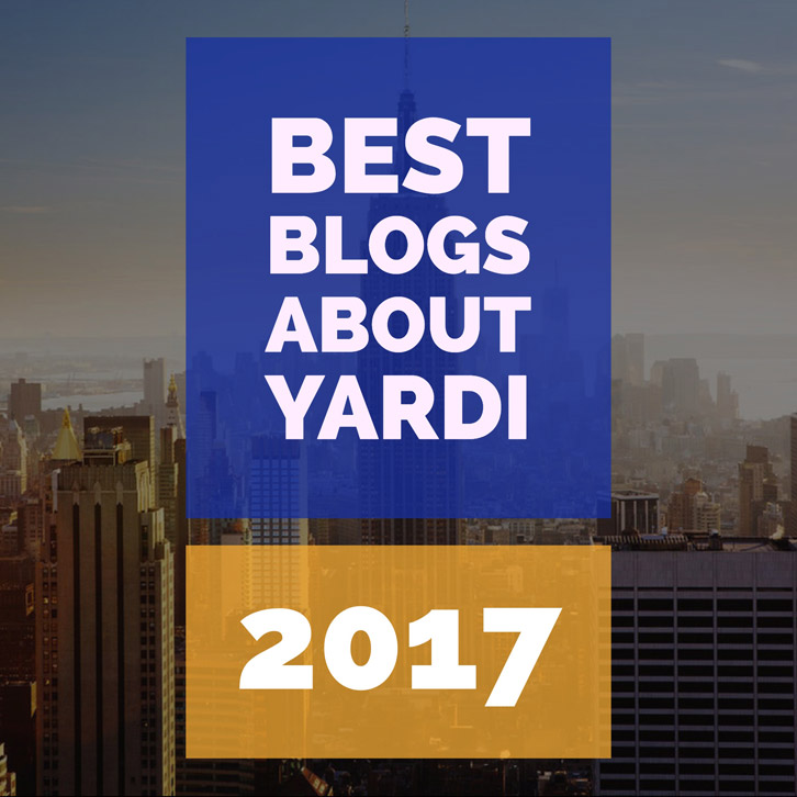 Most Popular Yardi Blogs of 2017